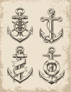 Home - tattoo spirit - & qout; A Smooth Sea never made a Skilled Sailor & qout; , The tattooed anchor motif stands for ete - Marine Tattoos, Navy Tattoos, Navy Anchor Tattoos, Anchor Tattoo Men, Nautical Tattoos, Sailor Tattoos, Tattoo Black, Home Tattoo, Discret Tattoo