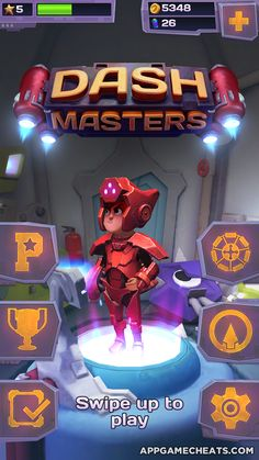Dash Masters Cheats & Hack for Coins, Energy, & All Packs Unlock  #Adventure #Arcade #DashMasters #Strategy http://appgamecheats.com/dash-masters-cheats-hack/