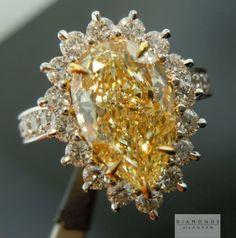 This is a stunning W-X, Natural Light Yellow Pear Shape Diamond set into an uber halo diamond ring Pear Shaped Diamond Ring, Pear Diamond Rings, Diamond Engagement Rings, Diamond Jewelry, Colored Diamonds, Yellow Diamonds, Mellow Yellow, Gems And Minerals, Bracelets