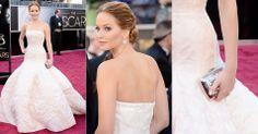 Como garota propaganda da bolsa Miss Dior.. O vestido é da ....grife francesa Christian Dior.. O colar para traz.. estava linda.