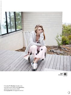 Gertrud Hegelund for Elle Australia (June 2014) photo shoot by Stefania Paprelli