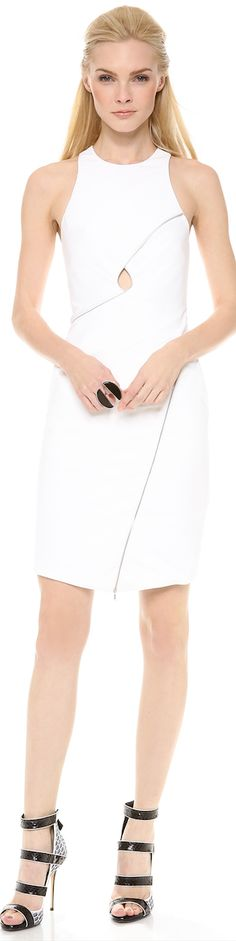 Dion Lee zip vertigo day dress - LOOKandLOVEwithLOLO: Fun&Flirty......Fabulous Dresses from Shopbop