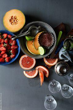 Grilled Spicy Margarita Ingredients via Bakers Royale
