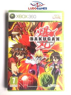 Bakugan Battle Brawlers Xbox 360 Nuevo Precintado Videojuego Sealed New PAL/SPA