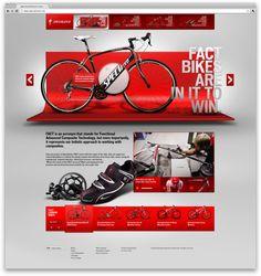 specialized concept - r/ga #webdesign #inspiration