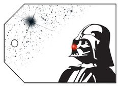 Star Wars Christmas gift tags – Freebie Printable