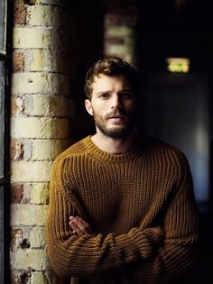 Mr Jamie Dornan Post: on the cover of Details mag, ELLE UK,  outtakes, new photoshoot for GQ UK, chunky knitwear