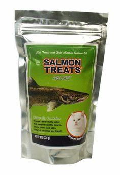 Salmon Treats for Cats (8 oz) - Cat Treats - $4.69