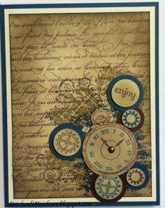 En Francais and Clockworks stamp sets