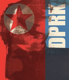 Front cover of a book I wrote and made for a project entitled 'DPRK' - The Democratic People's Republic of Korea, explaining a brief history of North Korea and issues that the country is currently dealing with. #DPRK #NorthKorea