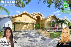 FOR SALE ~ Amazing 3 bed 2 bath pool home located in desirable Rock Creek features open kitchen with granite counters and stainless steel appliances.