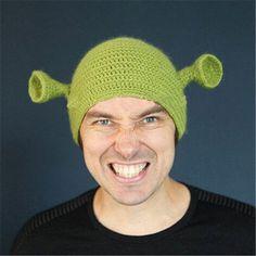 monster Shrek wool hat cmen hat