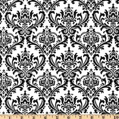 Premier Prints Madison Black/White from @fabricdotcom  This versatile fabric is screen printed on cotton and perfect for window treatment (valances, swags, draperies, and curtains), toss pillows, chair cushions, duvet covers, bed skirts, upholstery, slipcovers, totes, aprons  and much more! Color palette includes black and ivory white.