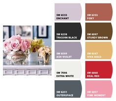 Use Sherwin-Williams Chip-it Program to find your perfect paint pallet