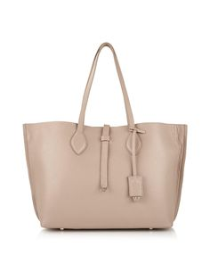 130be90f586 WHISTLES Regent Soft Pebble Tote - Nude   veryexclusive.co.uk Fashion  Beauty,