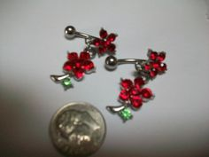 Body Jewelry with Crystals $4.00