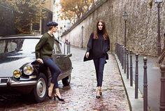 ユニクロ×イネス・ド・ラ・フレサンジュ 16年秋冬コレクション -ファッション変革期のパリを着想源に 写真7