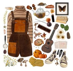 """""""Truffle Hunting Season"""" by lolita-sinn ❤ liked on Polyvore featuring Brunello Cucinelli, Converse, Hahn, Crate and Barrel, Clips, GAS Jeans and ferm LIVING"""