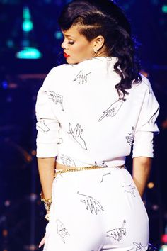 Rihanna 777 Tour at Royal Albert Hall, London, 2012.