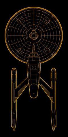 Uss Enterprise Ncc 1701, Star Trek Enterprise, Star Trek Voyager, Star Trek Tos, Vaisseau Star Trek, Star Trek Tattoo, Star Trek Wallpaper, Cuadros Star Wars, Starfleet Ships