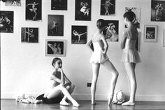 Young dancers at POB School.