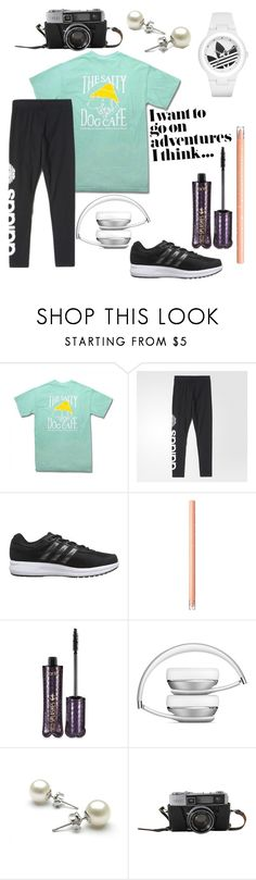 """""""I Want To See The World"""" by emmy-awards ❤ liked on Polyvore featuring Comfort Colors, adidas and tarte"""
