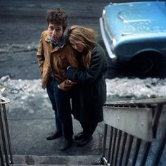 Photo Dylan and Suze - Don Hunstein