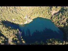 DJI Phantom 4 - Flooded basalt quarry in Rotava - Zatopený čedičový lom v Rotavě Dji Phantom 4, Czech Republic, City Photo, Bohemia