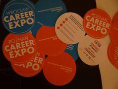 Okrągłe ulotki Career EXPO robiły furorę na ulicach!