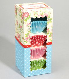 Cath Kidston cupcake liners... is it just me or is it impossible to find cute liners?