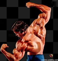 muscle growing on muscle.