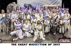 Star Wars Celebration Orlando 2017 – 2 Days as Rey – emeraldB