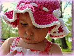 Easy Crochet Toddler Sunhat