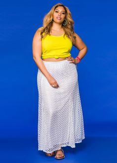 Crochet Lace Maxi Skirt Crochet Lace Maxi Skirt