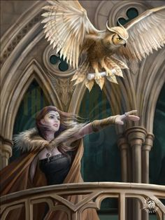 A stunning 3D Lenticular print of artwork by the fantastic fantasy artist Anne Stokes. Love this? Find this and much more at www.caszmy.co.uk #fantasyart #annestokes #owlmessenger #gothicartwork #3dlenticularart