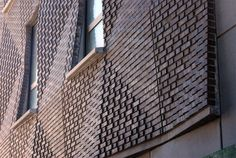 Prefab brick work on 290 Mulberry St Condos in New York, NY by SHoP Architects