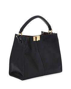 8ae21728c902 Fendi Peekaboo Xlite Mini Top-Handle Bag