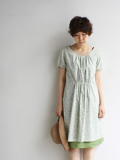 Lovely dress in Liberty lawn.