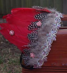 Festival Feather Headdress/ Boho  Headband/ Indian Headdress