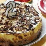 Toffee Ice Cream Cake Bday Design