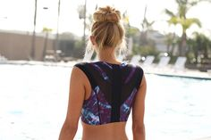 Intelliskin Sports Bra Review Better Posture Tools | The Intelliskin Sports Bra claims to improve your posture and it actually works. #refinery29 http://www.refinery29.com/intelliskin-posture-sports-bra