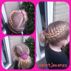 a 5 strand dutch braid and a french braid #braidsforgirls #braids #braidphoto #girlyhairstyles #girlshairstyles