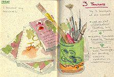 Artist journals - more info on artist