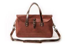 The Zip-Top Briefcase - Tan