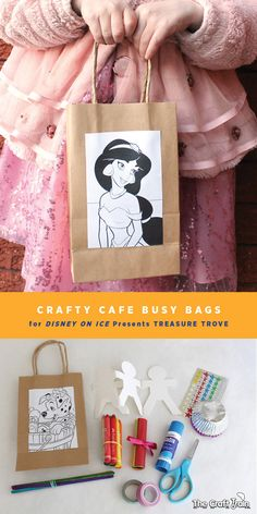 Crafty Cafe Busy bags for Disney on Ice