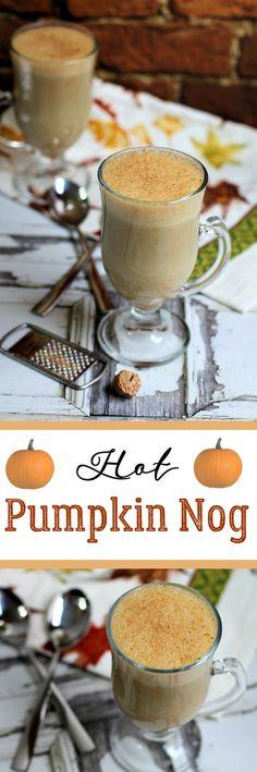 Hot Pumpkin Nog (non-dairy)