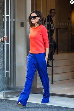 Victoria Beckham à la sortie de son hôtel à New York, le 8 septembre 2016