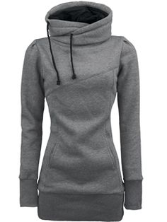 Popular Top Quality Pure Color Slim Hoodies
