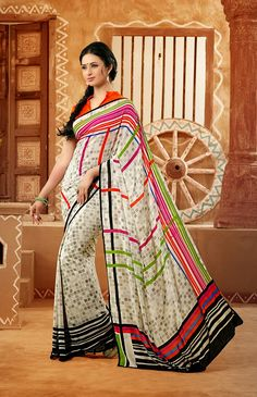 Price :- INR 878  Design No. : Ts-30034  Product Page :- http://www.unnatiexports.com/design/closeup/women-daily-wear-sarees-a-94-b-31.html