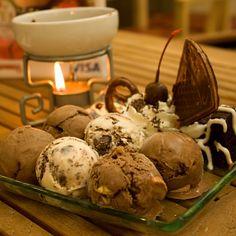 Ice Cream Fondue @ Swensen's Hua Hin Market Village    ... SOOON I'll get my own Swensen's Fondue <3